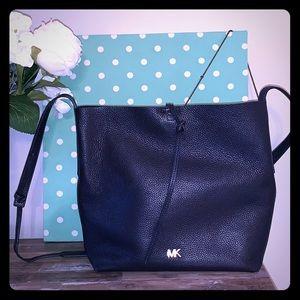 Michael Kors Crossbody Navy Leather Bag
